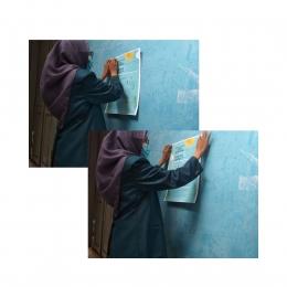 Penjelasan Materi Edukasi disampaikan door to door ke Warga Agungmulyo RT 02/RW 01