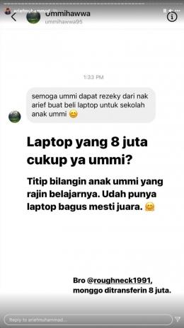Instagram/Ariefmuhammad