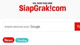 tangkapan layar situs siapgrak.com (www.siapgrak.com)