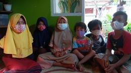Gambar 5. Penyampaian kesan terhadap kegiatan oleh anak - anak yang berpartisipasi