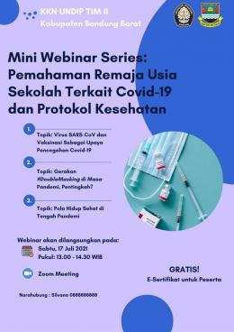 Poster Miniwebinar Series (Dok. Pribadi)