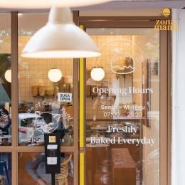 Pintu Masuk Offline Store Zona Manis