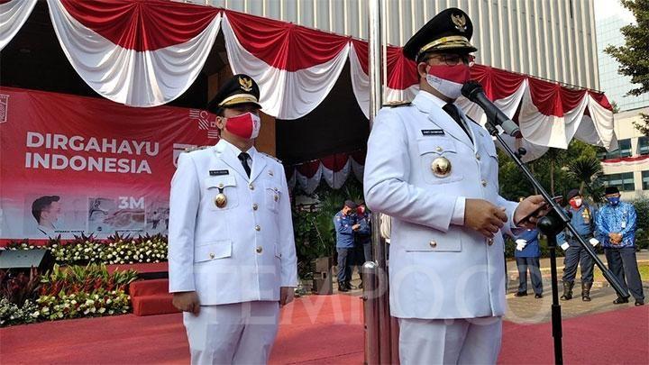 Covid-19, Nasionalisme, dan Kemerdekaan Indonesia (Tempo/Imam Hamdi )