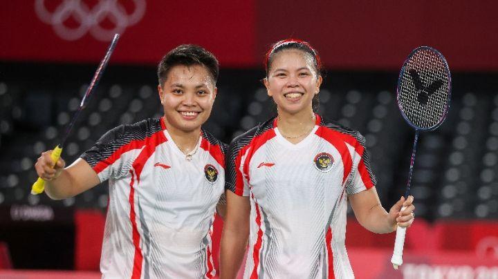 Greysia Polli dan Apriyani Rahayu berhasil menang di final Olimpiade Tokyo 2020 (Dok. BadmintonPhoto)