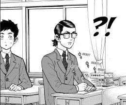 Baji Keisuke kelas 3 SMP. Via: mangasee123.com