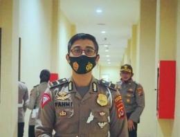 Kanit Regident Sat Lantas Polres Pandeglang IPDA Moch. Fahmi Prakasa, S.tr.K.