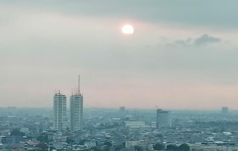 Senja dari tirai karantina di Jakarta 2/08/2021 | Dokumen pribadi oleh Ino