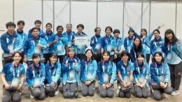 Dokumentasi pribadi, dari tim teknologi Makuhari Messe | Tim teknologi Makuhari Messe, yang bertugas di Olimpiade Tokyo 2020
