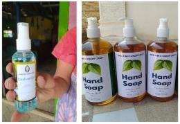 Produk Handsanitizer dan Handsoap/dokpri