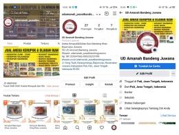 Output program kerja kedua berupa toko online di media sosial dan e-commerce/Dokpri