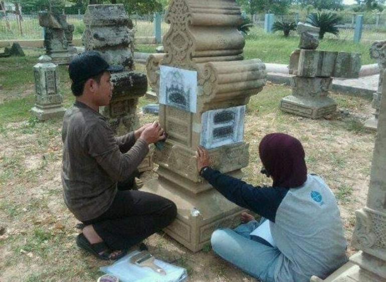 (Sumber: Balai Arkeologi Sumatera Utara, 2014)