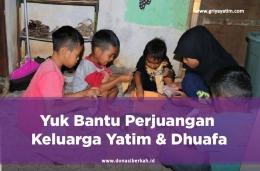 Bantu Pemenuhan Nutrisi Yatim & Dhuafa (Sumber:Griya Yatim & Dhuafa)