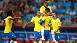 Brasil vs Spanyol di final (cnnindonesia.com)