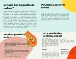 Pembuatan leaflet untuk sosialisasi/Dokpri