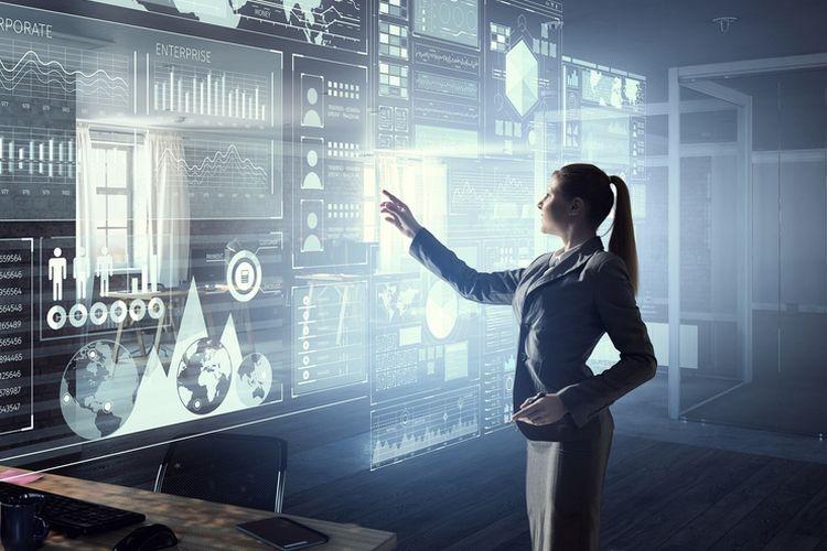 Ilustrasi transformasi bisnis digital| Sumber: Shutterstock via Kompas.com