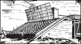 Gudang es. Sumber: buku Physics for Entertainment, Book 2, hlm. 187.