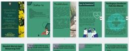 Booklet Dampak Permasalahan Mental pada Fisik/dokpri