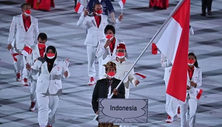 Atlet Indonesia pada gelaran Olimpiade Tokyo 2020, Foto: Detik.com
