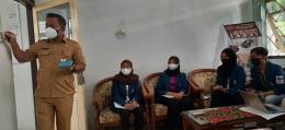 Koordinasi bersama Kepala Bidang Penelitian dan Pengembangan BAPPEDA & LITBANG Kab. Wonogiri (Dokumentasi Pribadi)