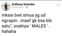 Sumber: Twitter @snlimyy
