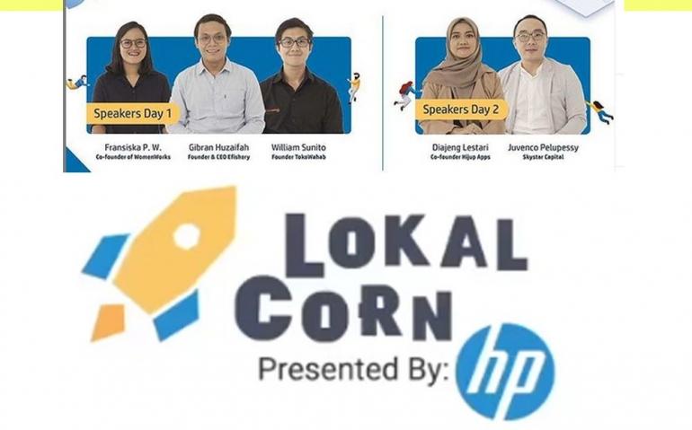 Ilustrasi LokalCorn. Sumber gambar dari IG @lokalcorn (Desain Rachmat PY)