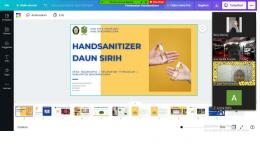 Edukasi secara online melalui platform zoom meeting (Dokpri)