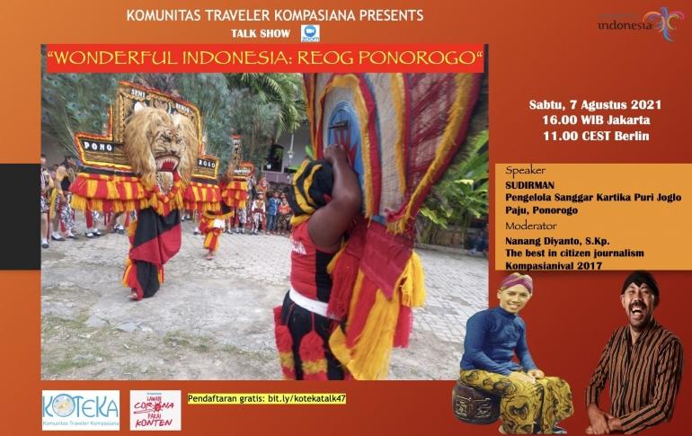 Mari lestarikan budaya Indonesia sejak dini (Dok.Koteka)