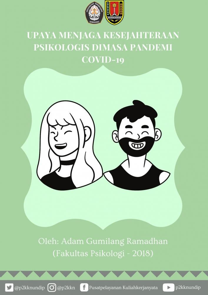 BookletUpaya Menjaga Kesejahteraan Psikologis Dimasa Pandemi Covid-19/dokpri