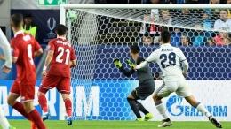 Gol Asensio ke gawang Sevilla di Piala Super UEFA 2016. Sumber: Getty Images via CBSSports