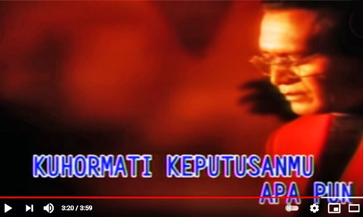 Screenshot YouTube klip