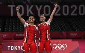 Psangan ganda putri Indonesia |Sumber: sport.bisnis.com