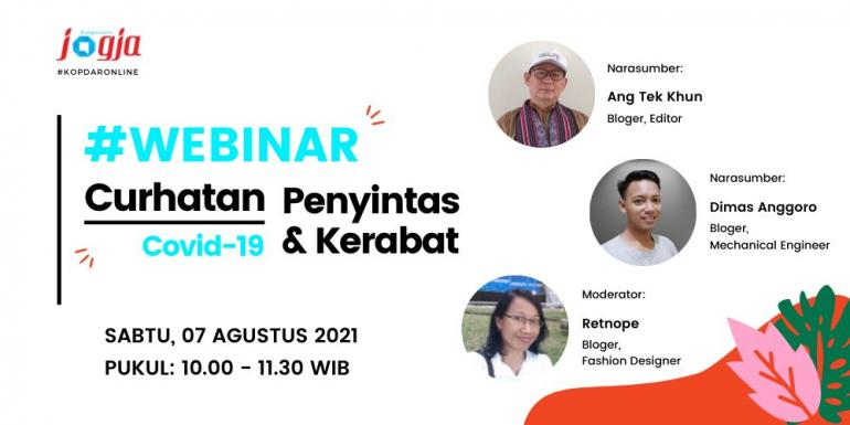 Event 9 #WEBINAR Curhatan Covid-19 Penyintas & Kerabat  Dokumentasi K-Jogja