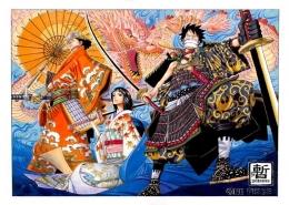 Cover manga One Piece chapter 310. (Sumber: onepiece.fandom.com)