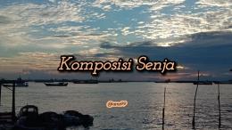 Puisi Komposisi Senja/ Dokpri @ams99 By Text On Photo