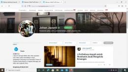 Tangkapan layar akun Bapak Johan Japardi, sumber: Kompasiana