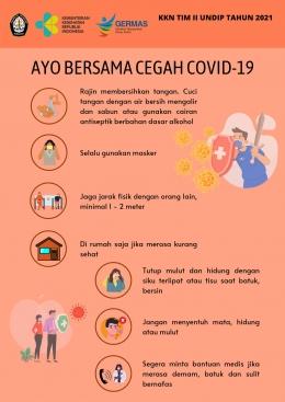 Poster Pencegahan Penyebaran Covid-19 (dokpri)