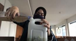 Langkah pembuatan pupuk sampah organik (doc.pribadi)
