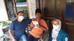 Psikoedukasi dan pemberian booklet kepada warga Dusun Ngaran, Desa Ngasinan, Kab. Magelang (20/07)-Dokumentasi pribadi