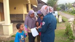 Psikoedukasi kepada warga Dusun Ngaran, Desa Ngasinan, Kab. Magelang (20/07)- Dokumentasi pribadi