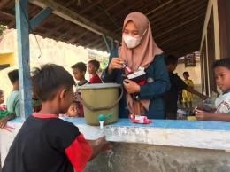 Dokumentasi Edukasi Cuci Tangan di Desa Ngadem, Kec. Rembang, Kab. Rembang, Jawa Tengah
