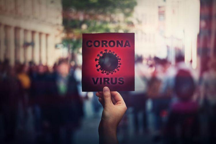 Ilustrasi Corona (shutter stock via kompas.com)
