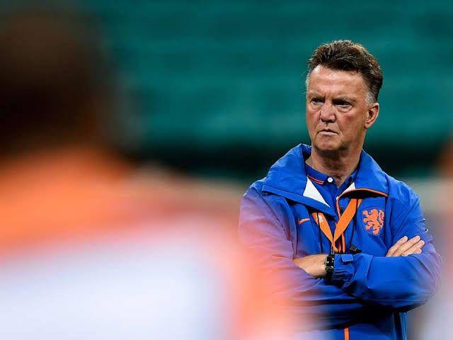 Louis Van Gaal, pelatih Timnas Belanda