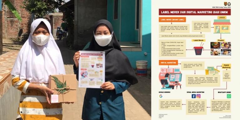 Kegiatan Sosialisasi Label Merek dan Digital Marketing pada UMKM di Kelurahan Mangkang Wetan