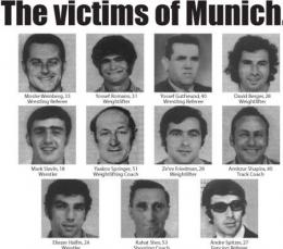 Foto: Sebelas atlet korban terorisme Olimpiade Munchen (Sumber: insidethegames.biz)