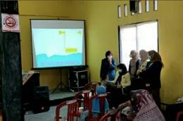 Sosialisasi Edukasi Cuci Tangan 6 Langkah, Etika Batuk dan Cara Menggunakan Masker yang Baik dan Benar (dokpri)