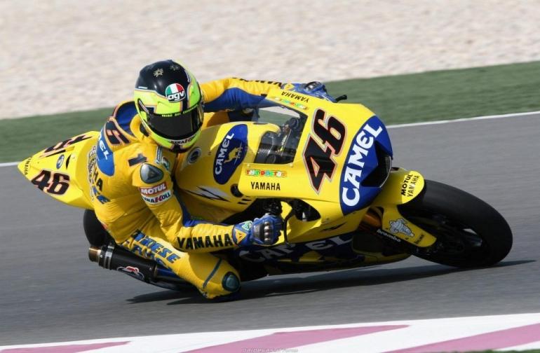 Salah satu motor Valentino Rossi yang paling Ikonik, Sumber: Ridertua.com
