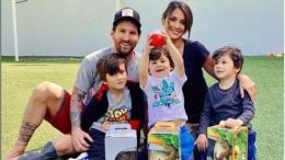 Lionel Messi akan menghabiskan quality time bersama keluarga. Liputan6.com