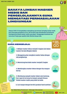 Gambar 2. Poster program 2 KKN yang dibagikan kepada masyarakat/dokpri