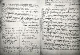 Surat wasiat Nobel. Sumber: https://en.wikipedia.org/wiki/File:Alfred_Nobels_will-November_25th,_1895.jpg
