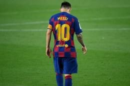 Adios (selamat jalan) Lionel Messi. Kompas.com
